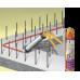 SikaSwell® S2 Однокомпонентный полиуретановый герметик набухащий при контакте с водой.